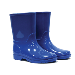 Kids Wellington Boots Blue