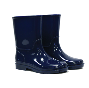 Kids Wellington Boots Navy