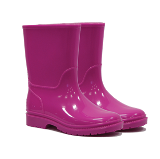 Kids Wellington Boots Pink