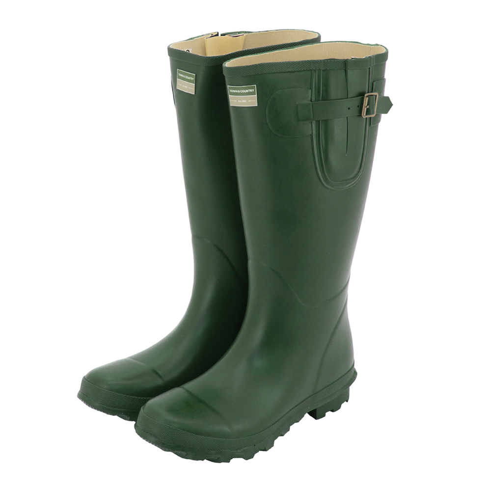 Bosworth Wellington Boots Green