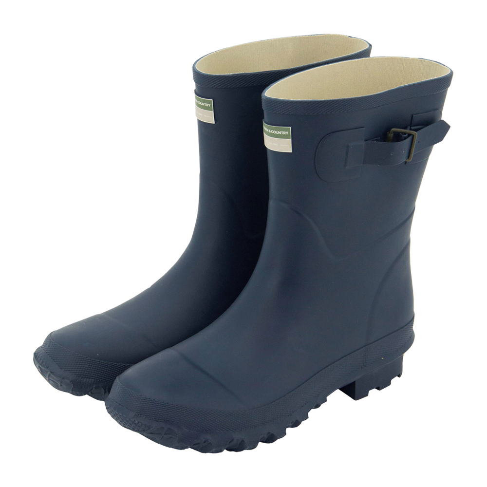 Bradgate Wellington Boots Navy
