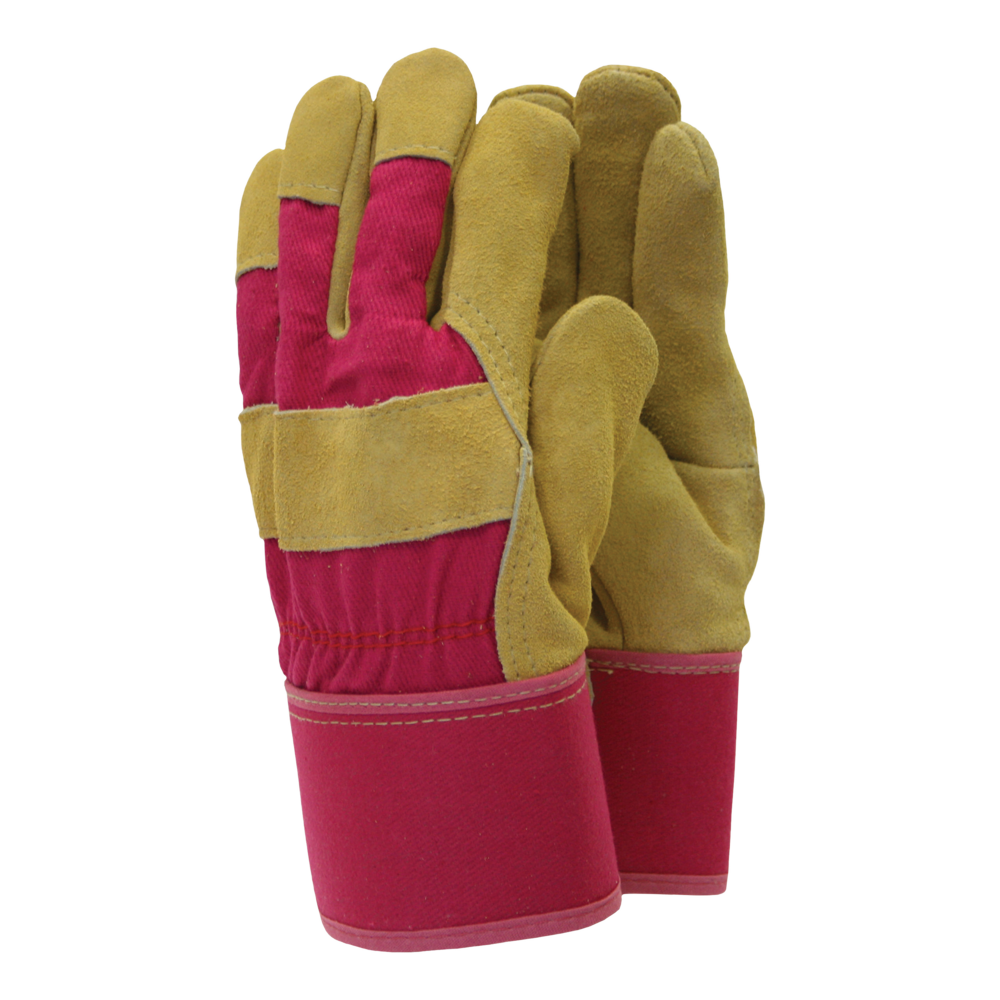 TOWN /& COUNTRY THERMAL LINED SUEDE LEATHER GARDENING GLOVES LADIES TGL108M