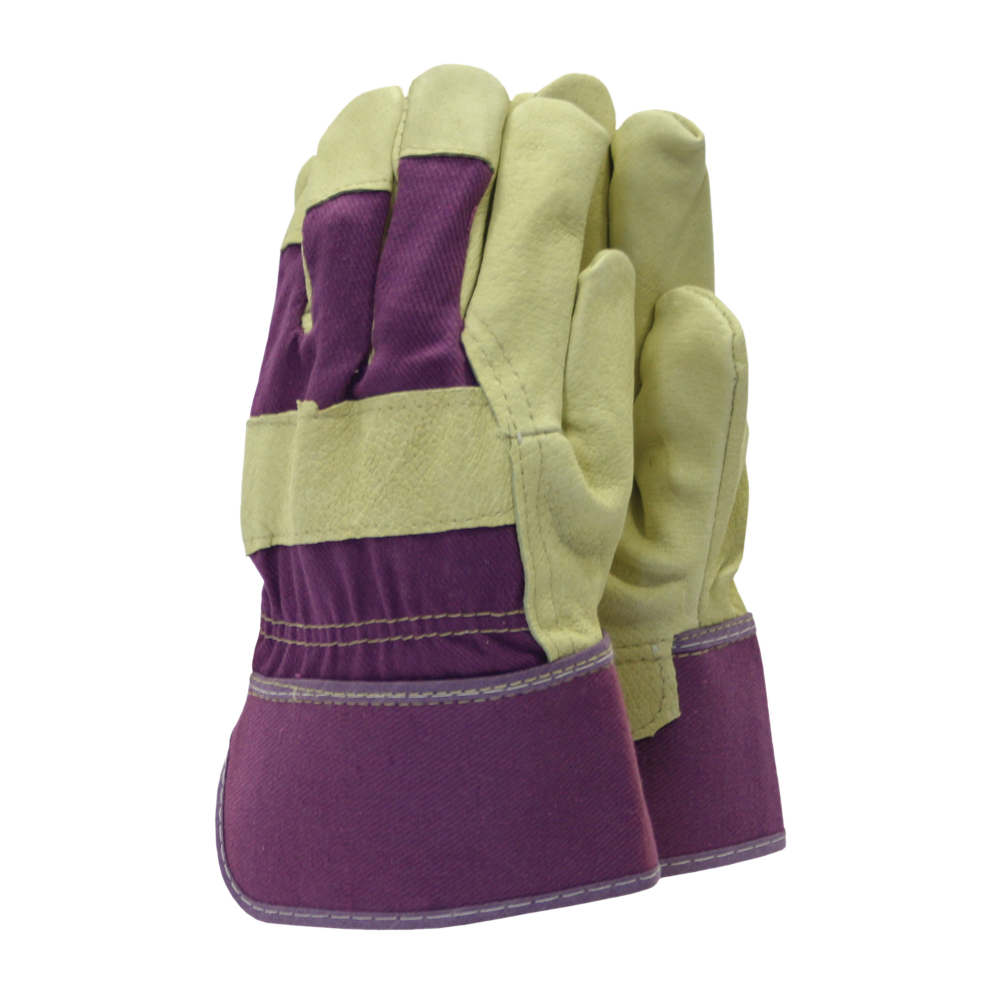 Washable Leather Rigger Purple