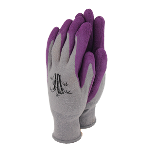 Weedmaster Bamboo Gloves Grape