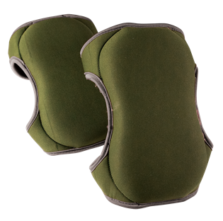 Memory Foam Knee Pads Green