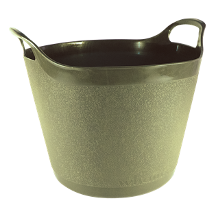 Round Flexi-Tub Garden Green