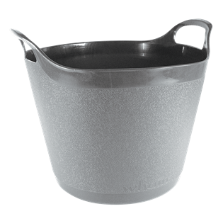 Round Flexi-Tub Graphite Grey