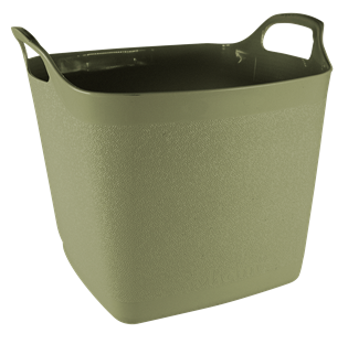 Square Flexi-Tub Sage Green